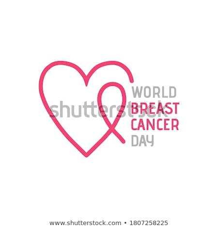 15 borst gezondheid dag kalender wenskaart Stockfoto © Olena