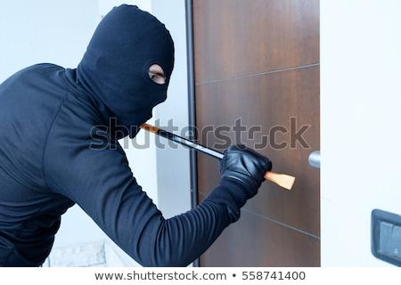Anti-thieves armored door Stock photo © adrenalina