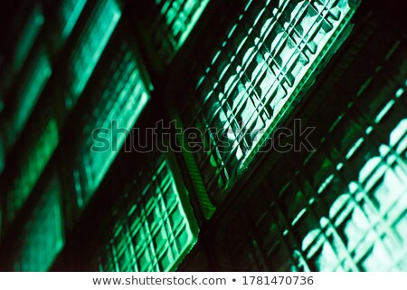 Translucent color frost glass blocks wall texture Stock photo © stevanovicigor