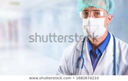 empresário · estômago · dor · indigestão · branco - foto stock © deandrobot