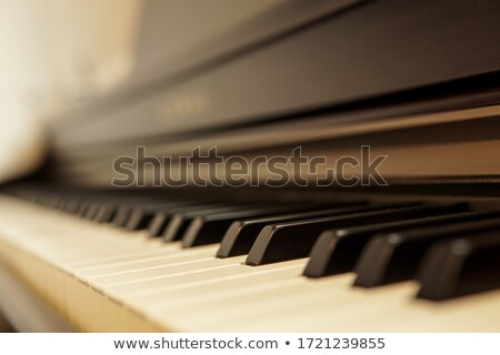 close-up of musical notes Stock photo © sharpner