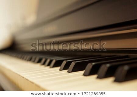 vieux · papier · score · chanson · calme · musique · art - photo stock © sharpner