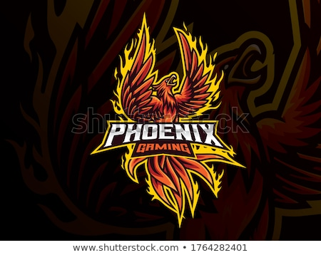 Foto stock: Eagle Esports Sports Gamer Mascot