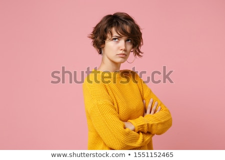 Offended Woman Stock photo © filipw