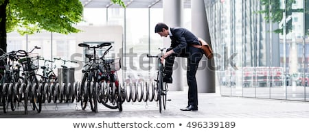 bicycle rack stock photo © luissantos84
