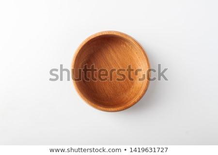 先頭 · 表示 · 木製 · ボウル · 風化した · デザイン - ストックフォト © dadoodas