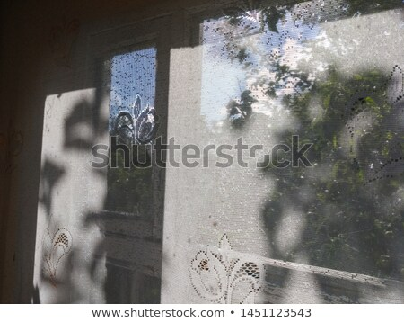 Photo frame with view on a village Stock photo © hamik