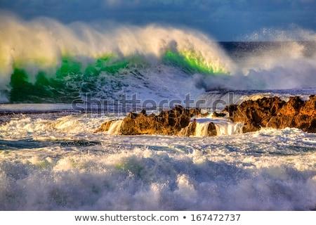 Popular praia norte Foto stock © dirkr