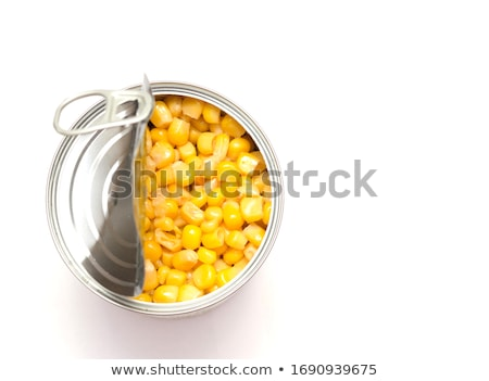 A Can of Sweet Corn Stock photo © bluering