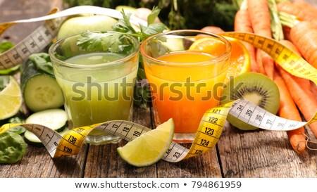 fruit juice, smoothie, healhty lifestyle Stock photo © M-studio