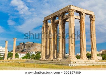 Temple of Zeus, Athens Stock photo © fazon1