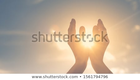 Stock photo: Praying Spiritual Life