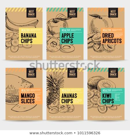 vitamin · szárított · növénygyűjtemény · termékek · eredet · illusztráció · természet - stock fotó © robuart