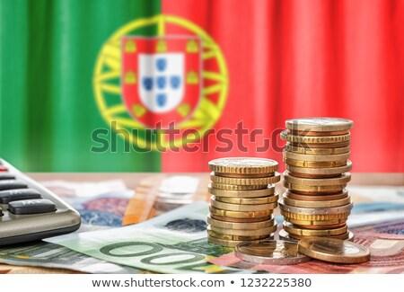 euro · bankbiljetten · kleurrijk · bank · merkt - stockfoto © zerbor