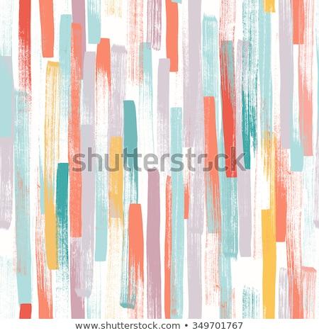 Stockfoto: Hand · geschilderd · baksteen