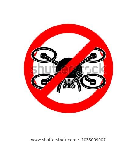 icon · geïsoleerd · antenne · voertuig · witte · vliegtuigen - stockfoto © maryvalery
