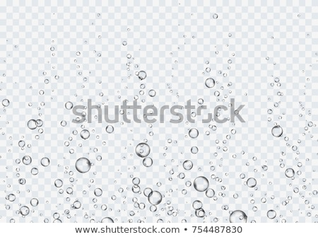 transparent soap water bubbles background stock photo © sarts