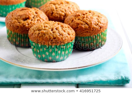 peanut butter muffins stock photo © yuliyagontar