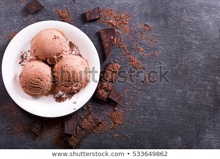chocolate ice cream bars Stock photo © nito