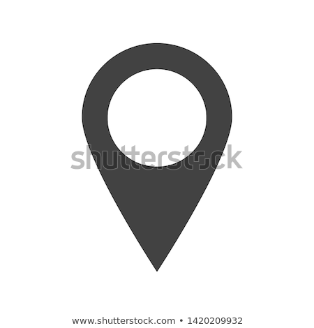 Map Pointer Gps Location Modern Symbol Vector Stock photo © pikepicture