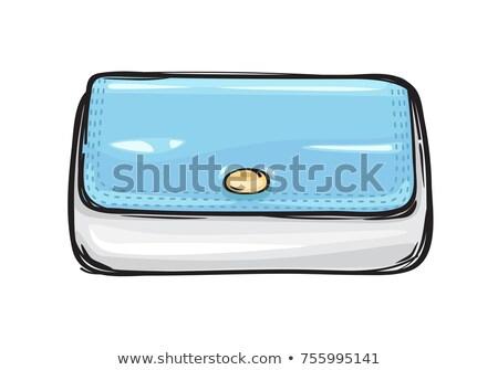 моде сцепления сумку кошелька искусства стиль Сток-фото © robuart