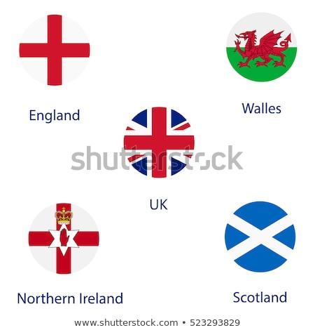 Noorden Ierland vlag element geïsoleerd witte Stockfoto © doomko