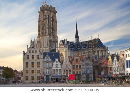 Grand Market Square (Grote Markt), Mechelen, Belgium Stock photo © borisb17