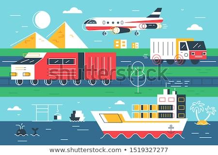 Natürlichen Chancen unterschiedlich modernen Sendung Transport Stock foto © jossdiim