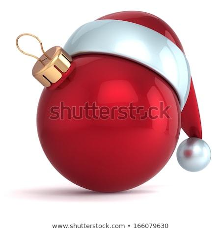 Christmas ball-ball emoticons Stock photo © robStock