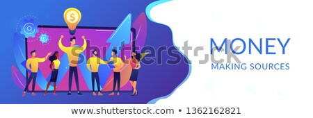 Intellectual capital concept banner header. Stock photo © RAStudio