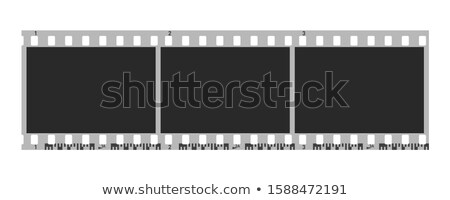 Filmstrip Roll For Video Camera Color Vector Stock photo © pikepicture
