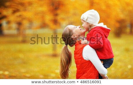 Família feliz mãe criança pequeno filha jogar Foto stock © ElenaBatkova