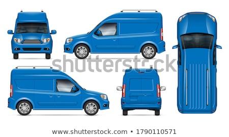 синий современных элегантный автомобилей модель Сток-фото © valkos