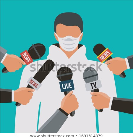 Paramedicus microfoon medische gezondheid nacht Stockfoto © Lopolo
