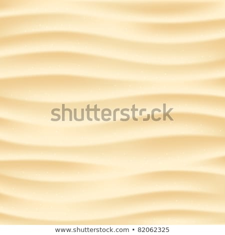 Desert Sand With Waves Pattern Background Vector Stock photo © pikepicture