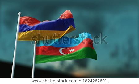 3D флаг Армения ветер Сток-фото © butenkow