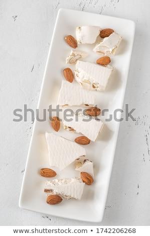 Turron -  European nougat confection Stock photo © Alex9500