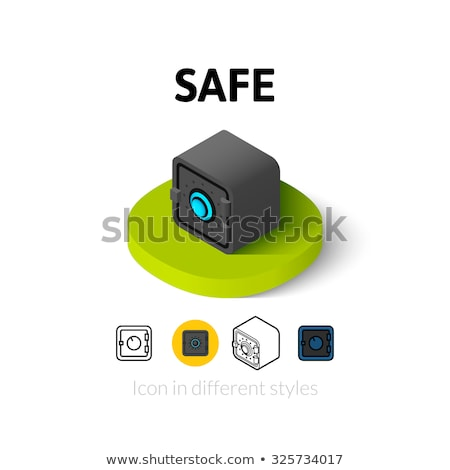 Computer Internet Deposit isometric icon vector illustration Stock photo © pikepicture