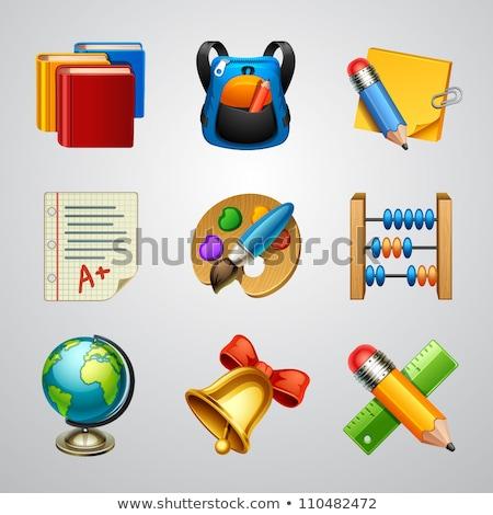 教育 アイコン 学習 要素 学校 セット ストックフォト © pkdinkar