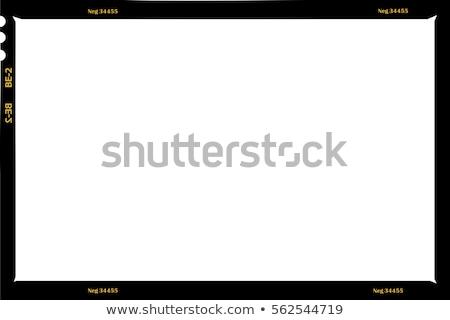 Grunge film frame computer gedetailleerd Stockfoto © Lizard