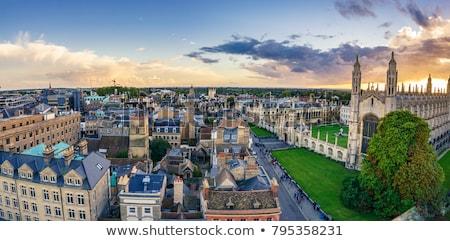 Cambridge arquitetura edifício escultura cara Foto stock © jeayesy