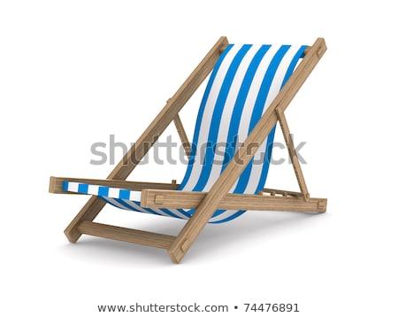 cadeiras · convés · cruzeiro · mar · barco - foto stock © hofmeester