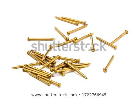 fej · fém · köteg · ipari · textúra · szelektív · fókusz - stock fotó © mcklog