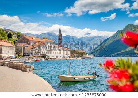 views of perast on kotor bay, montenegro  Stock photo © travelphotography