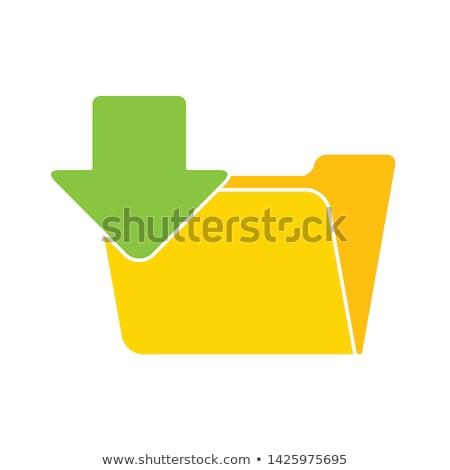plików · folderze · bazy · danych · Internetu · serwera · pomarańczowy - zdjęcia stock © tashatuvango