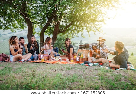 Stock photo: Spring barbecue