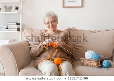 grandmother knitting stock photo © photography33