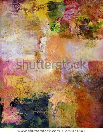 Colour Palette - Mixed Media Stock photo © frannyanne