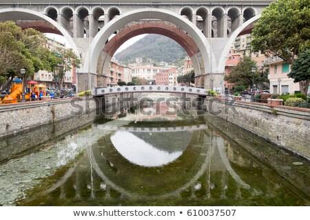 Köprüler İtalya kentsel görmek yol ray Stok fotoğraf © Antonio-S