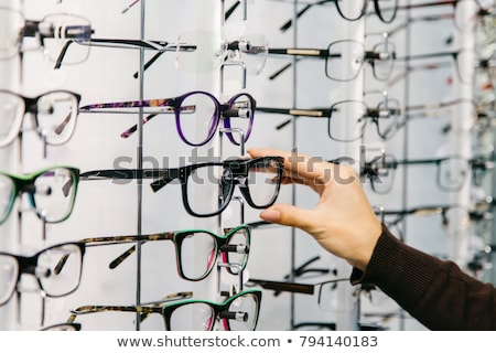 kadın · çift · gözlük · göz · muayenesi · gözlükçü - stok fotoğraf © photography33